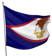 American Samoa United States of America Flag Site
