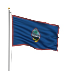 Guam United States of America Territory Official Flag Site