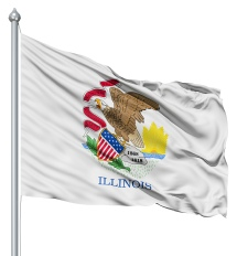 Illinois - United States of America Flag Site