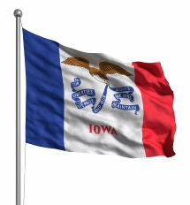 Iowa - United States of America Flag Site