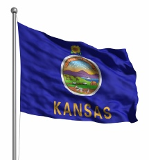 Kansas United States of America Flag Site