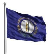 Kentucky United States of America Flag Site