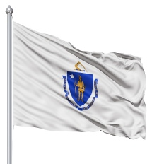 Massachusetts United States of America Flag Site