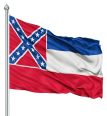Mississippi United States of America Flag Site