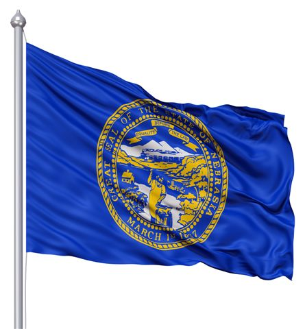 Beautiful Nebraska State Flags for sale at AmericaTheBeautiful.com