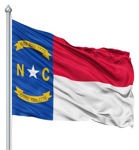 North Carolina United States Of America Flag Site