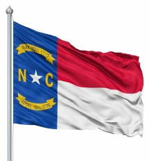 North Carolina United States of America Flag Site