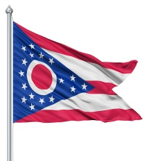 Ohio United States of America Flag Site