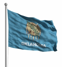 Oklahoma  United States of America Flag Site