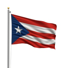 Puerto Ricoi United States of America Flag Site