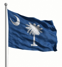 South Carolina United States of America Flag Site
