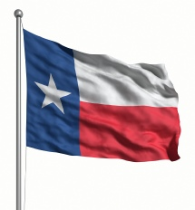 Texas United States of America Flag Site