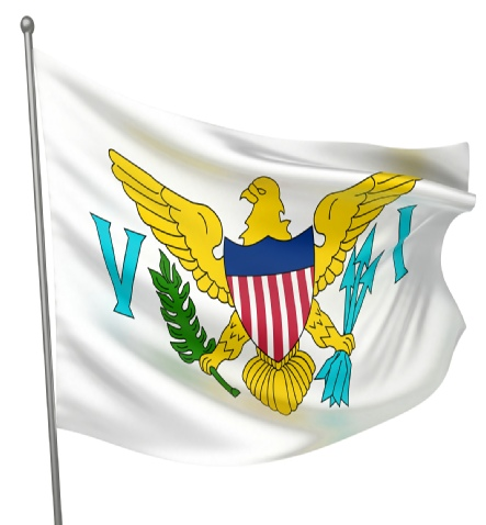 US Virgin Islands - United States of America Flag Site