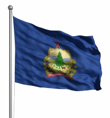 Vermont United States of America Flag Site