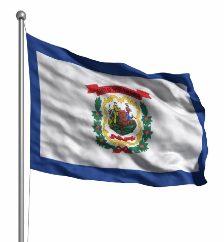 Beautiful West Virginia State Flags for sale at AmericaTheBeautiful.com