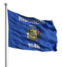 Wisconsin United States of America Flag Site