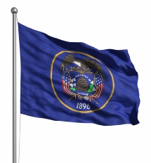 Utah United States of America Flag Site